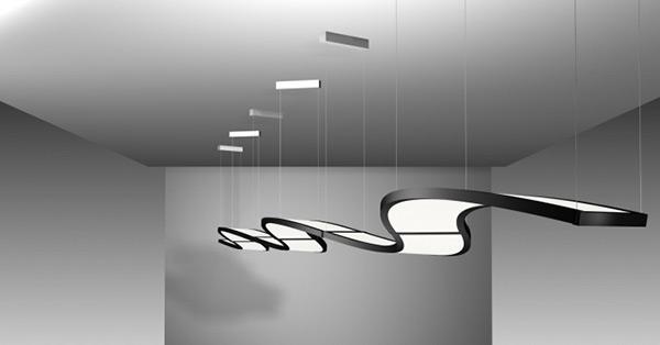 lampen neuheiten glas pendelleuchte modern. Black Bedroom Furniture Sets. Home Design Ideas